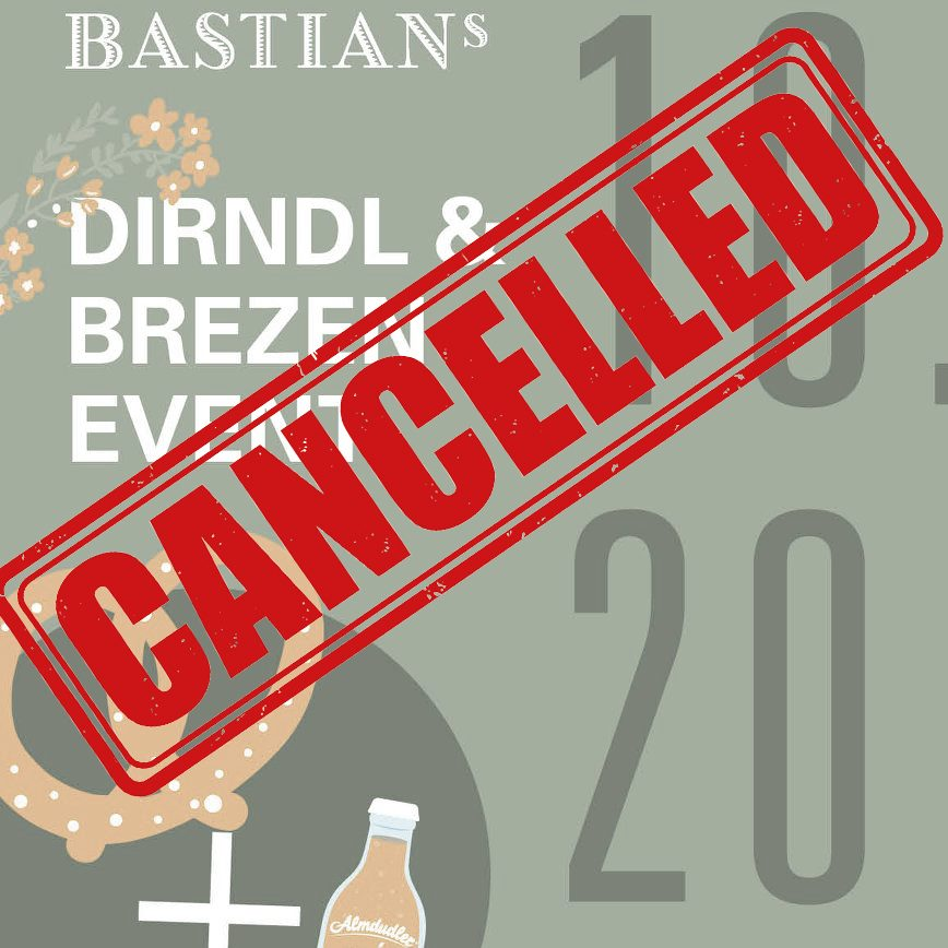 Cancelled: Dirndl & Brezen Event